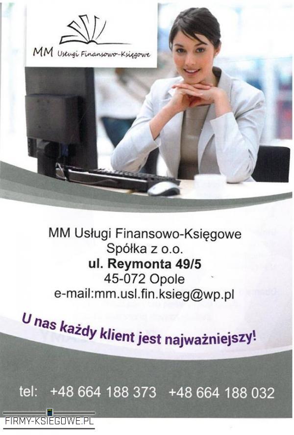 MM Usługi Finansowo-Księgowe Sp. z o.o.