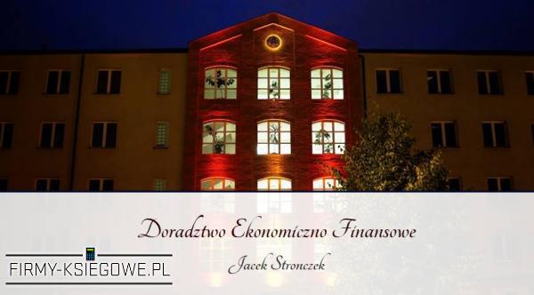 Doradztwo Ekonomiczno Finansowe Jacek Stronczek
