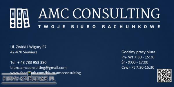 AMC CONSULTING Twoje Biuro Rachunkowe